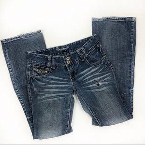 Amethyst distressed jeans sz 5